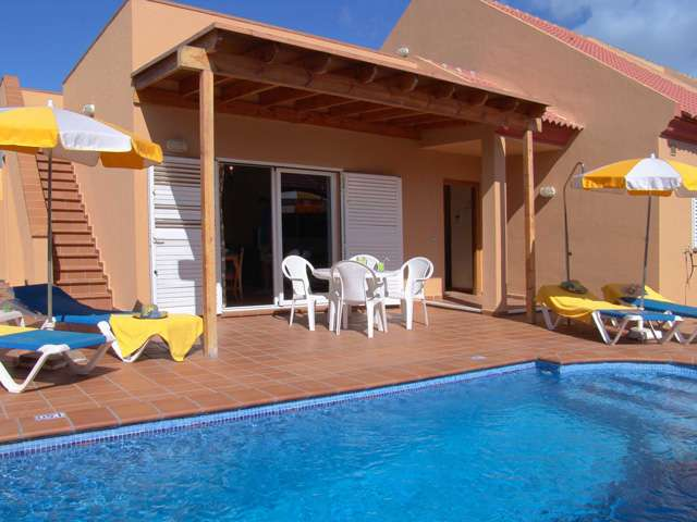 A complex of 68 three and four bedroom semi-detached Villas in Corralejo Fuerteventura with excellent views of Lobos and Lanzarote, close to amenities