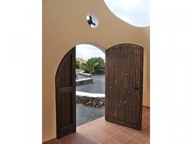 entrance - Casa Brujas, Lajares, Fuerteventura