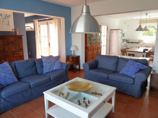 salon - Casa Brujas, Lajares, Fuerteventura