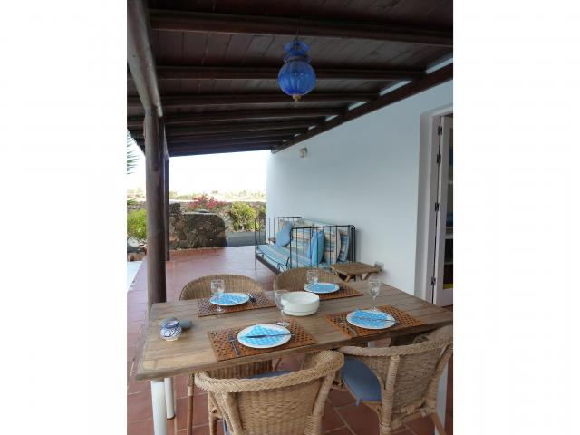 terrace - Casa Brujas, Lajares, Fuerteventura