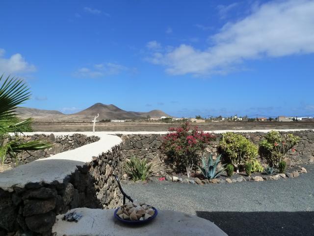volcanic landscape views - Casa Brujas, Lajares, Fuerteventura