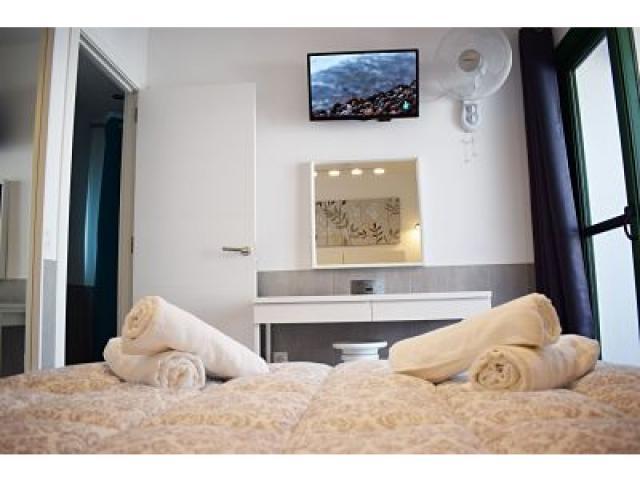 Dresser, flat screen and fan Master Bedr - Holiday Urban, Corralejo, Fuerteventura