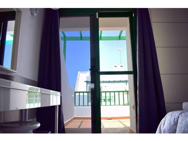 Way out to terrace in Master Bedroom - Holiday Urban, Corralejo, Fuerteventura